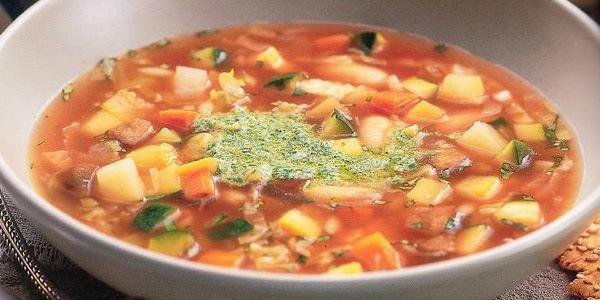 Овощной суп «Минестроне»