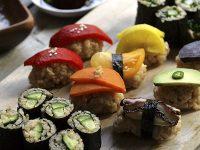Японская подборка для вегетарианцев