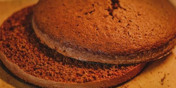Какао пирог