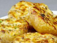 Картошка запяченная соусе кешью