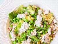 Живой греческий салат
