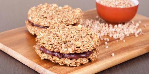 Сладкое печенье из гречки