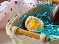 Шоколадные пасхальные яица