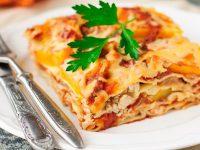 Вегетарианская лазанья по Итальянски