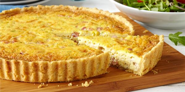 Пирог со шпинатом и тофу «Киш»