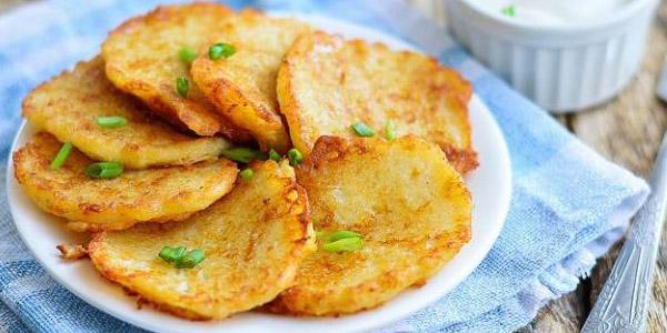 Картофельные оладьи — Драники