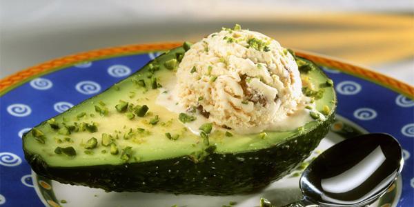Мороженное из авокадо