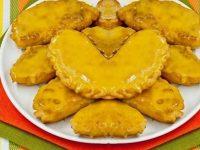 Индийский Самос с творогом и апельсином