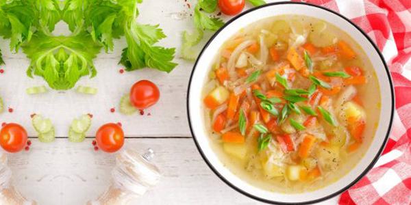 Веган суп